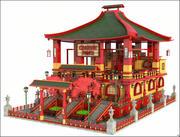 Chińska restauracja 3d model