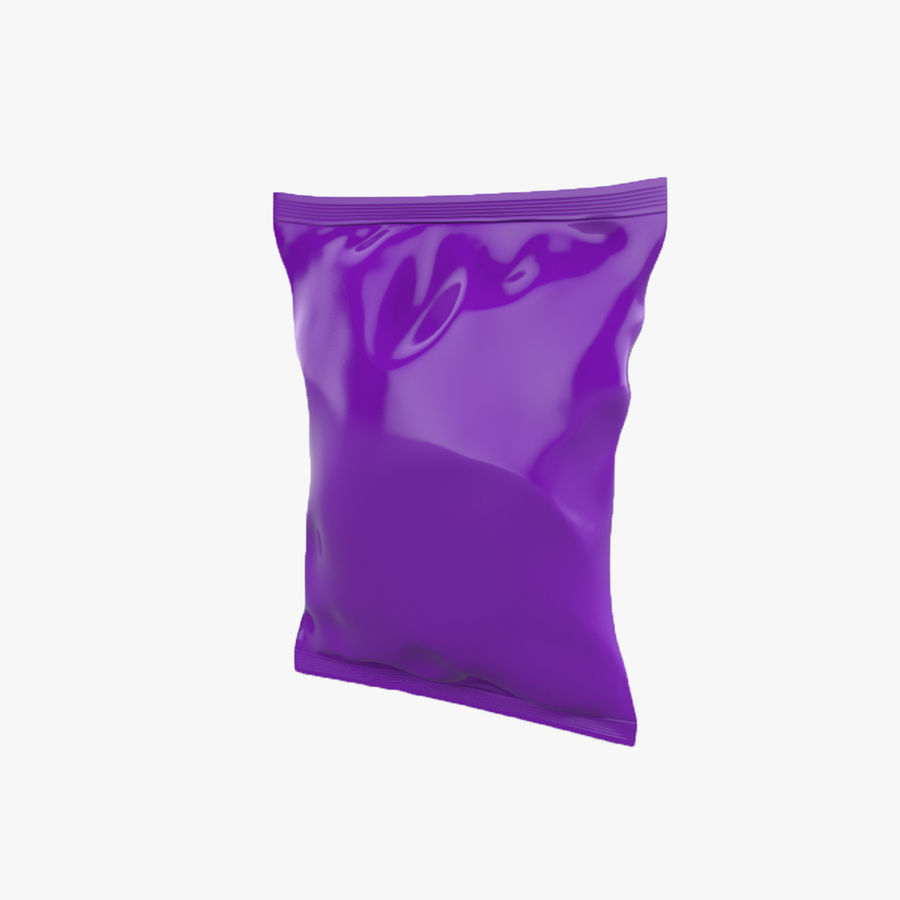 Food packaging v.5 royalty-free 3d model - Preview no. 1