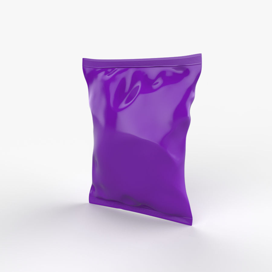 Food packaging v.5 royalty-free 3d model - Preview no. 2