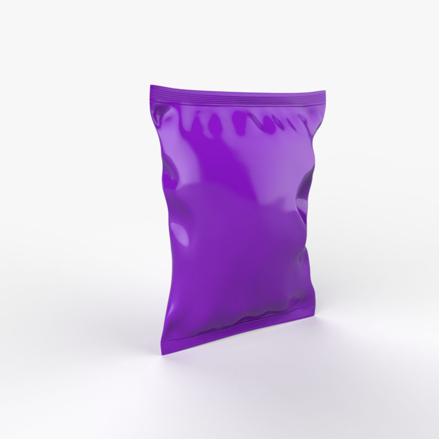 Food packaging v.5 royalty-free 3d model - Preview no. 4