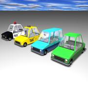 Toon Car GoSlo Collection 3d model