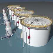 工业油箱 3d model