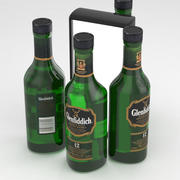 Glenfiddich 12 Years Single Malt Scotch Whisky 350ml 3d model