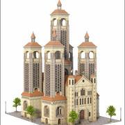 V12建筑 3d model