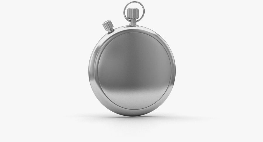 Stopwatch royalty-free 3d model - Preview no. 3