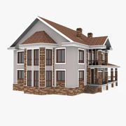 個人の家 3d model