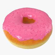 Pink Donut Modello 3D 3d model