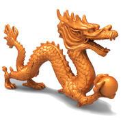 Dragão chinês 3d model