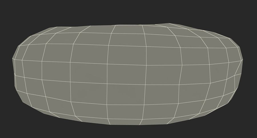Donut royalty-free 3d model - Preview no. 17