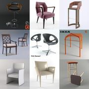 Krzesła 3d model