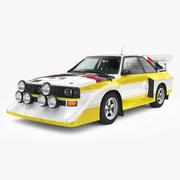 Ауди Спорт Quattro S1 1985 3d model