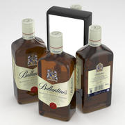 Ballantines Whisky 500ml 3d model