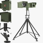 Rotary multisensor system Pergam PTP-225M 3d model
