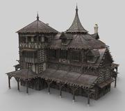 Medieval house fantasy 20 3d model