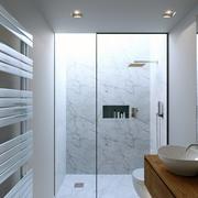 日冕浴室日夜浴室现代场景3D模型 3d model