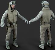 Luke Skywalker Hoth Jedi Hero 3d model