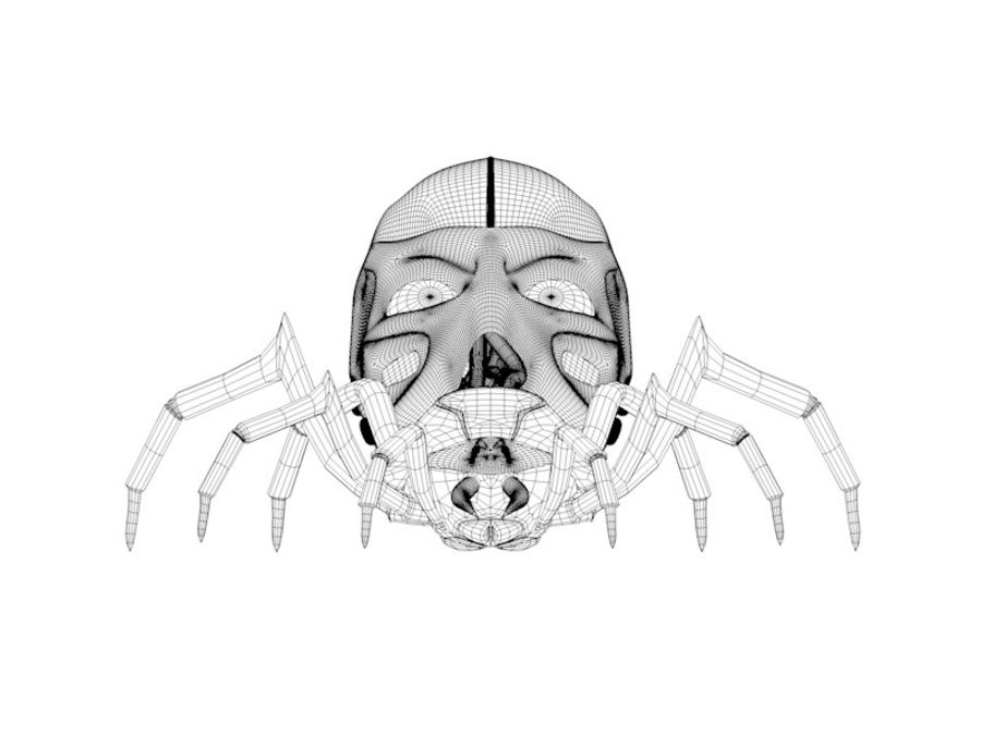 Aranha robótica royalty-free 3d model - Preview no. 4