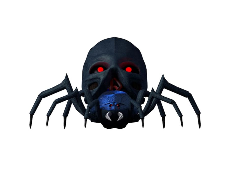 Robotic Spider royalty-free 3d model - Preview no. 3