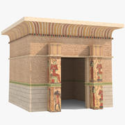 Egyptiska templet 3d model