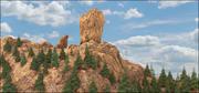 Rocky Landscape 3d model