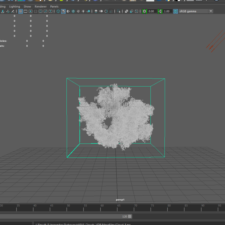3D Clouds - 10 PACK - VDB royalty-free 3d model - Preview no. 19
