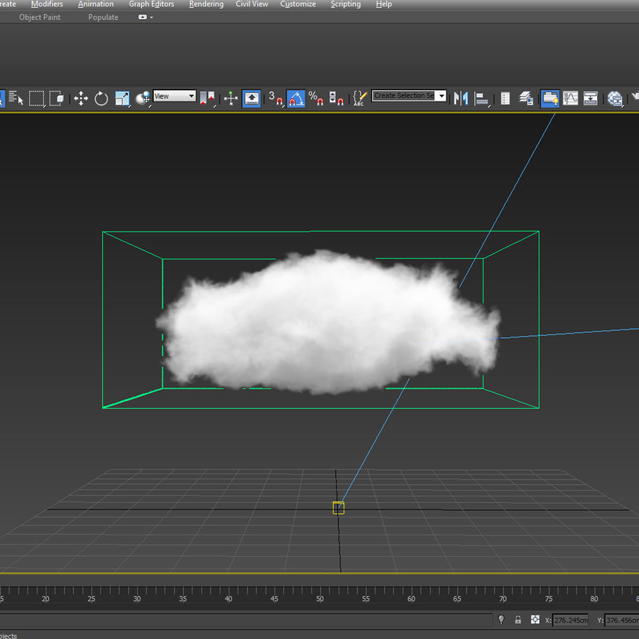 3D Clouds - 10 PACK - VDB royalty-free 3d model - Preview no. 6