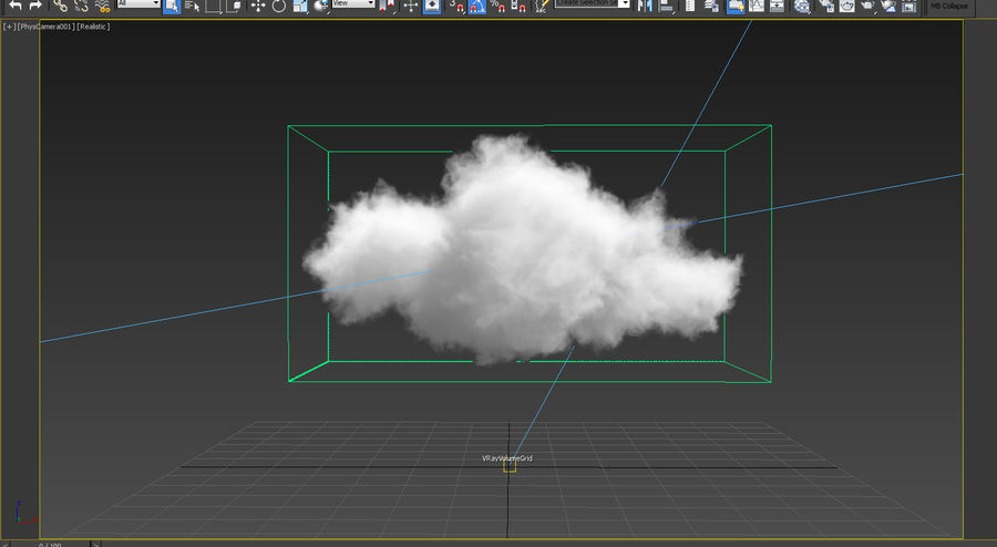 3D Clouds - 10 PACK - VDB royalty-free 3d model - Preview no. 3