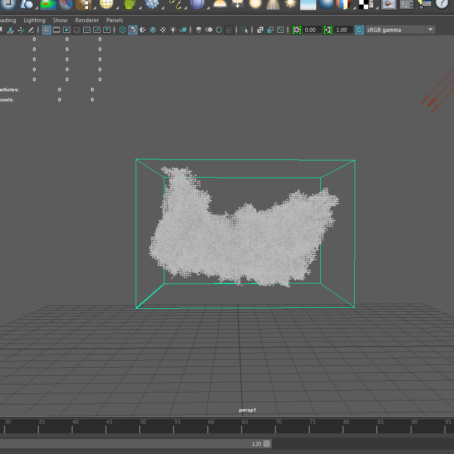 3D Clouds - 10 PACK - VDB royalty-free 3d model - Preview no. 22