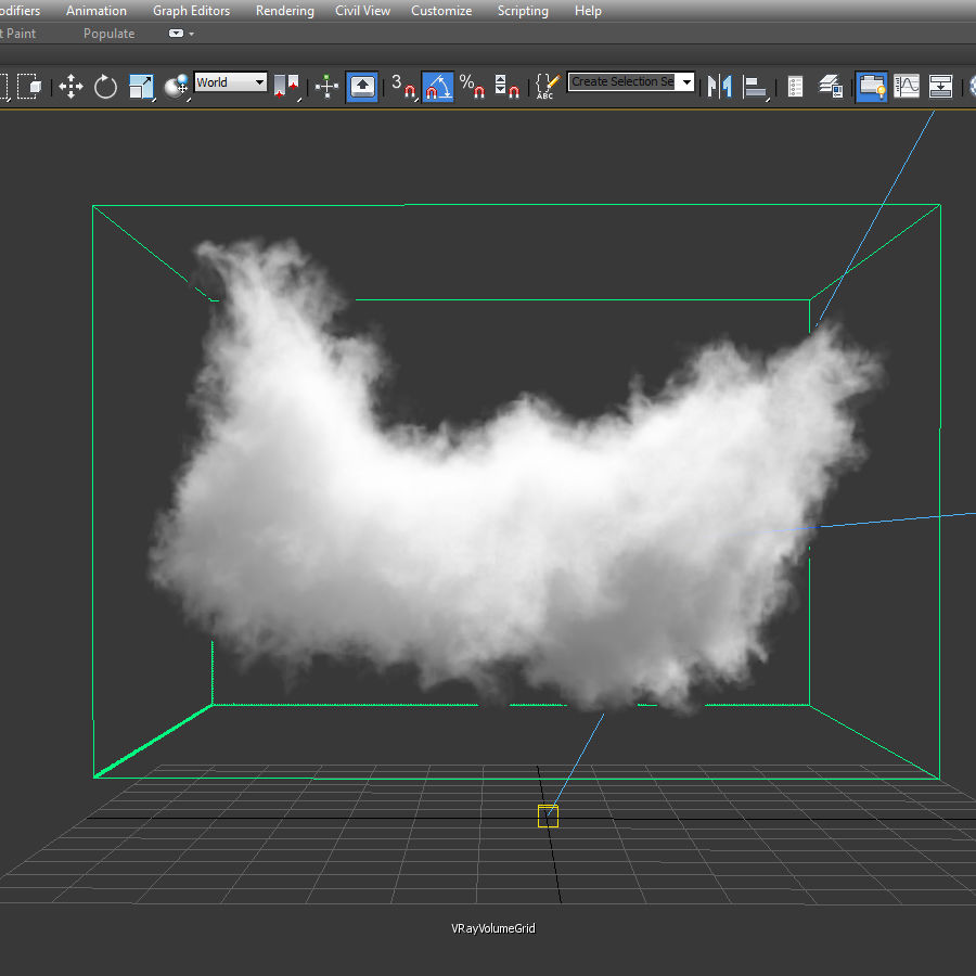 3D Clouds - 10 PACK - VDB royalty-free 3d model - Preview no. 21