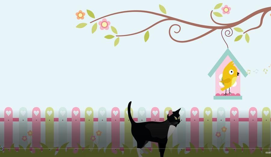 Postacie kota i człowieka royalty-free 3d model - Preview no. 4