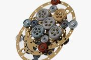 Gear mechanism v 3 3d model