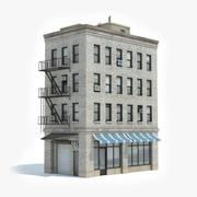 Apartment Building 28 3d model