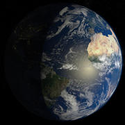 32k Planet Earth - Day & Night 3d model