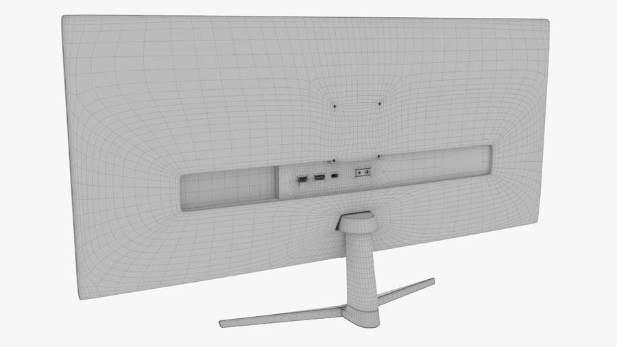 モニター royalty-free 3d model - Preview no. 7