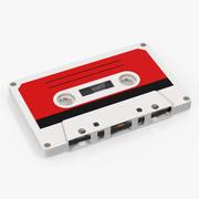 ビンテージの空のオーディオカセットテープ 3d model