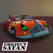 Proyecto Satan Futurama Car modelo 3d
