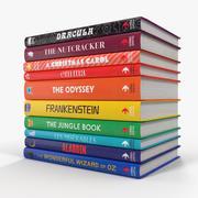 Childrens Books 3d model