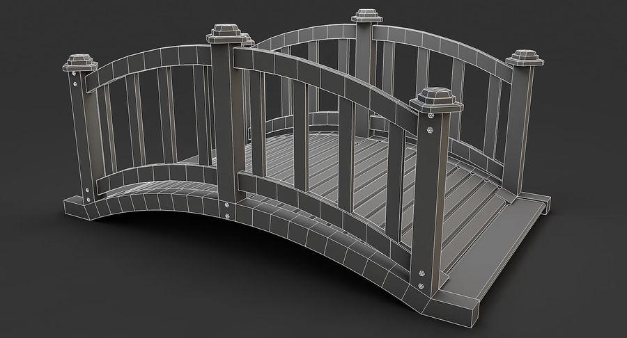 Ponte di legno royalty-free 3d model - Preview no. 11
