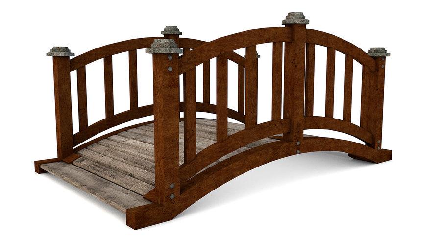 Ponte di legno royalty-free 3d model - Preview no. 6