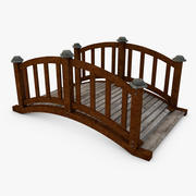 Wood Bridge 3d model