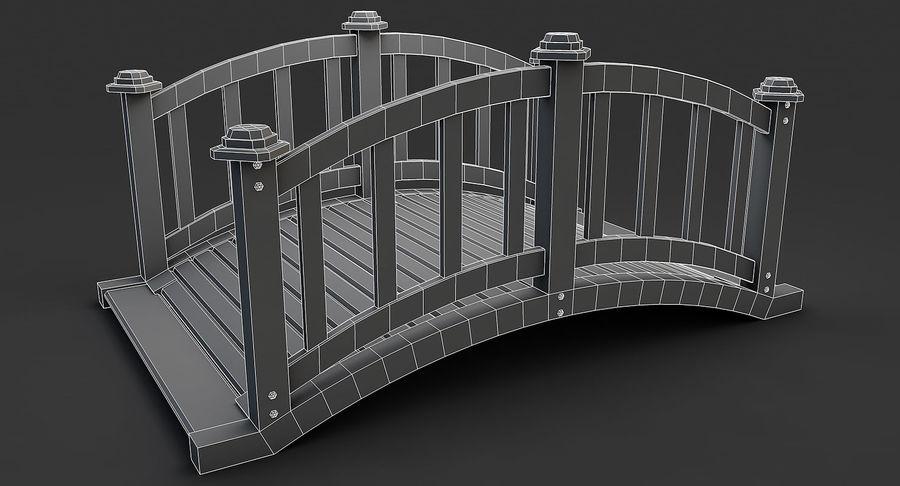Ponte di legno royalty-free 3d model - Preview no. 12
