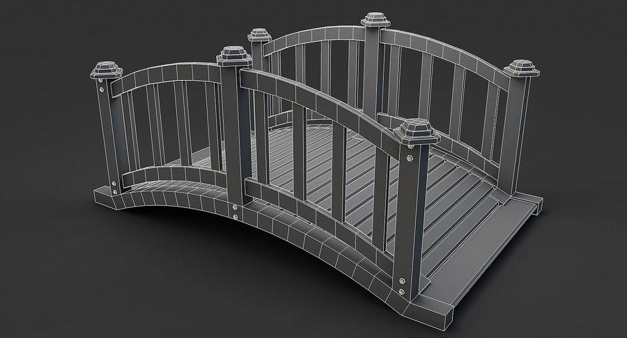Ponte di legno royalty-free 3d model - Preview no. 9
