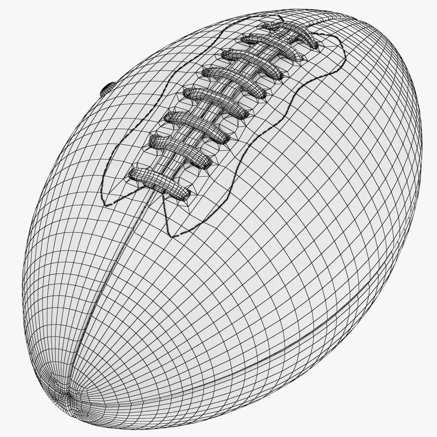 futbol amerykański royalty-free 3d model - Preview no. 12