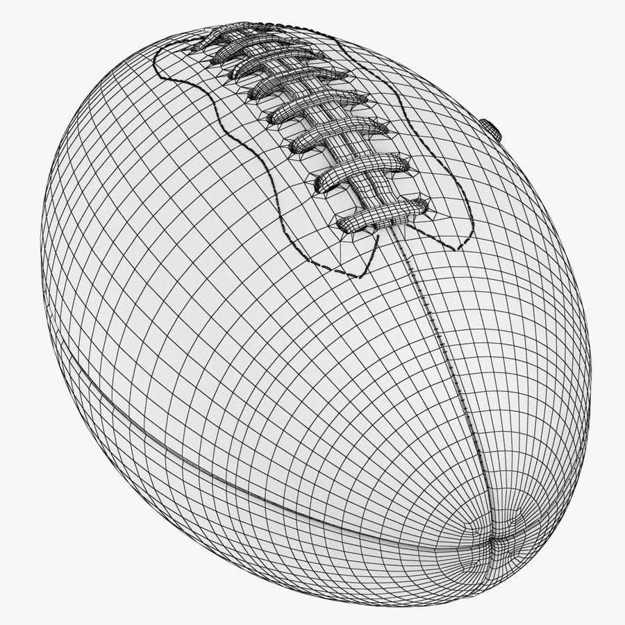 futbol amerykański royalty-free 3d model - Preview no. 15
