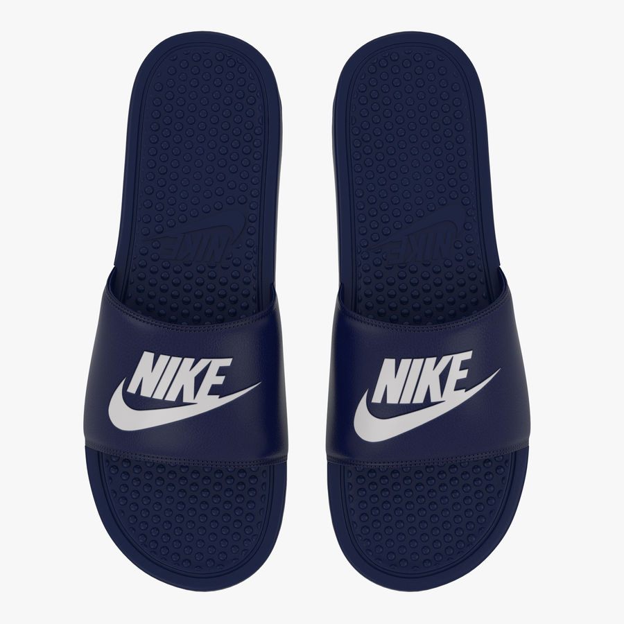 Nike Flip-Flops royalty-free 3d model - Preview no. 3