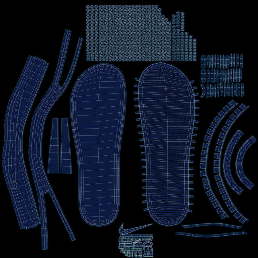 Nike Flip-Flops royalty-free 3d model - Preview no. 15