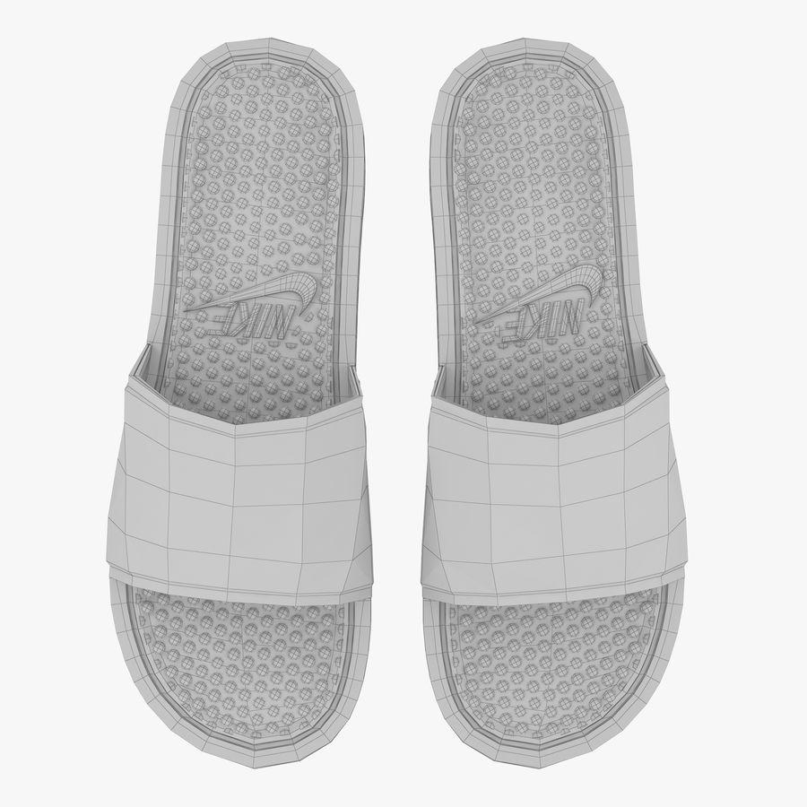 Nike Flip-Flops royalty-free 3d model - Preview no. 11