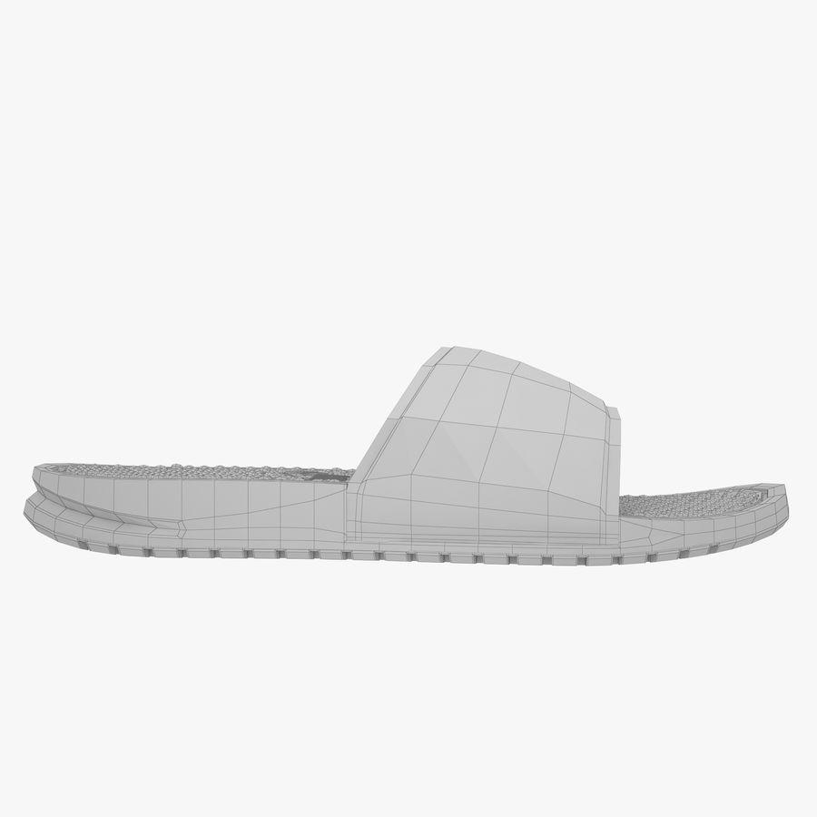 Nike Flip-Flops royalty-free 3d model - Preview no. 13