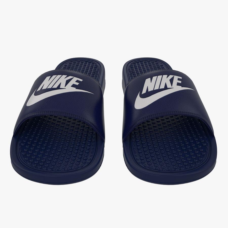 Nike Flip-Flops royalty-free 3d model - Preview no. 2