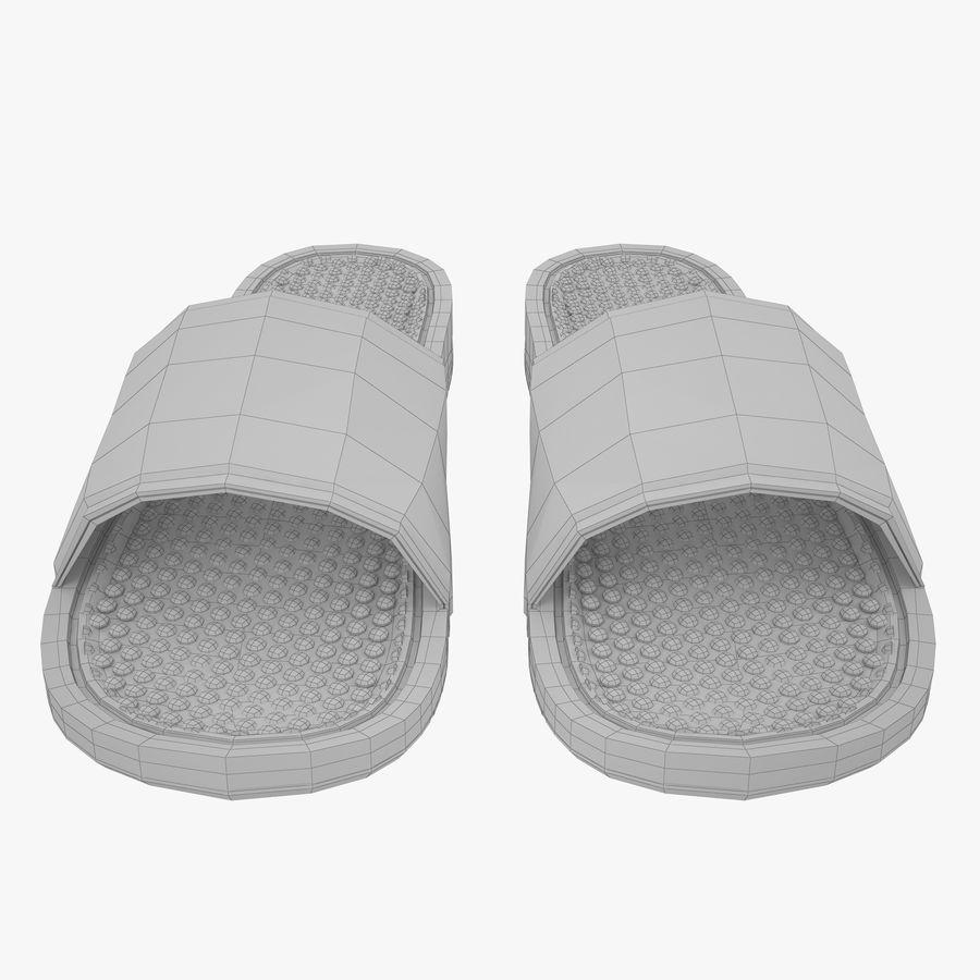 Nike Flip-Flops royalty-free 3d model - Preview no. 10